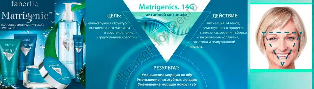 60+ Matrigenic Фаберлик