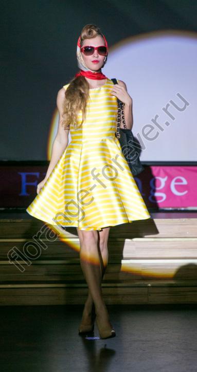 модный показ Флоранж Faberlic