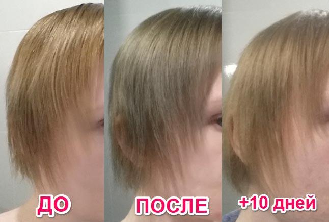 Стойкая крем-краска для волос Faberlic Шелковое окрашивание с аминокислотами шелка результат использования