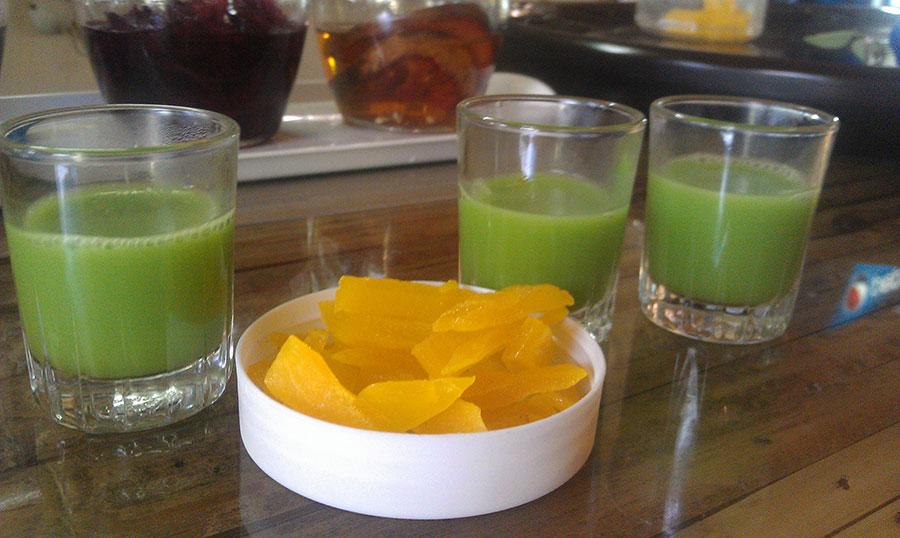 Тайский Зеленый чай матча